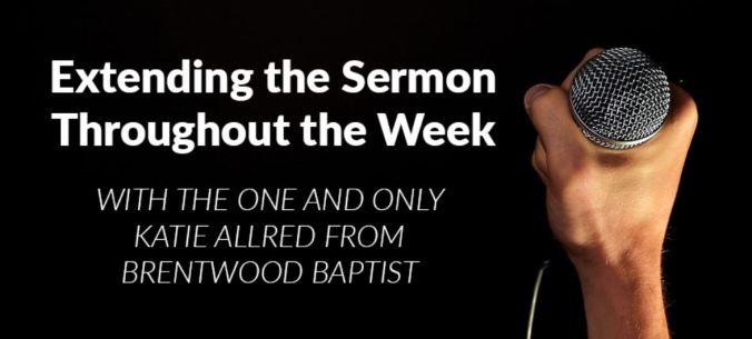 extend the sermon